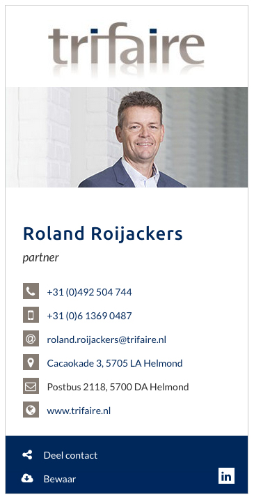 Roland Rooijackers Trifaire